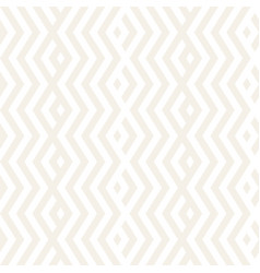 Abstract zigzag parallel stripes stylish ornament vector