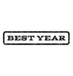 best year watermark stamp vector image vector image