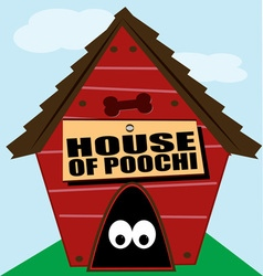 House of Poochi vector image vector image
