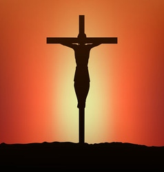 Jesus vector image vector image