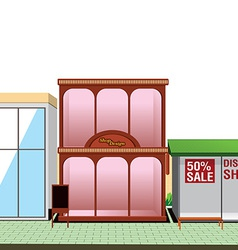 shop store vector image