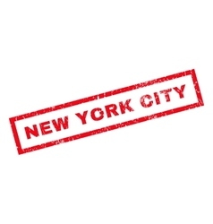 New york city rubber stamp vector