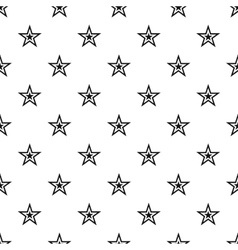 Celestial figure star pattern simple style vector