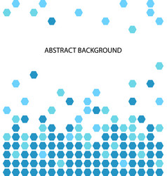 abstract background pattern with blue circle vector image vector image