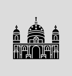 Berlin cathedral vector