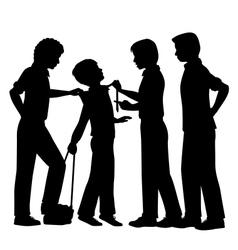 Bullying vector image vector image