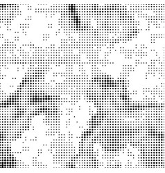 Halftone abstract seamless background vector