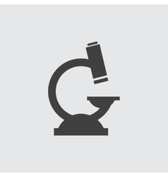Microscope icon vector image vector image