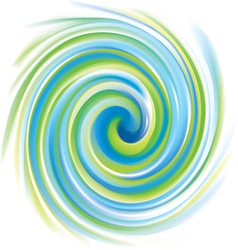 Spiral liquid surface vector