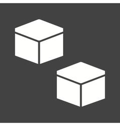 Cubic design vector