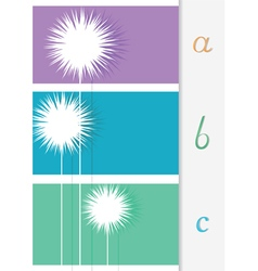 Abstract background for different text vector