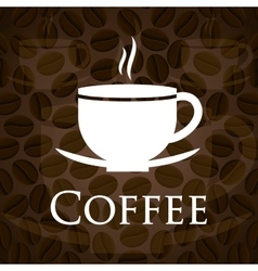 Cofee icons design vector image vector image
