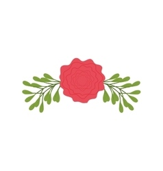 Flower garden floral icon graphic vector