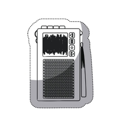 Isolated recorder device design vector