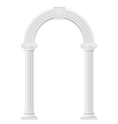 Antique arch 02 vector