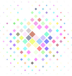 Colorful square pattern background - from vector