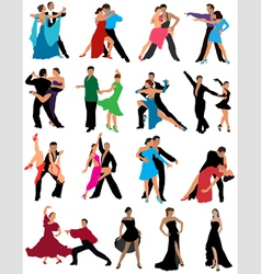 Dance vector image