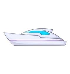 Powerboat icon cartoon style vector