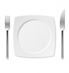 set of kitchen objects vector image