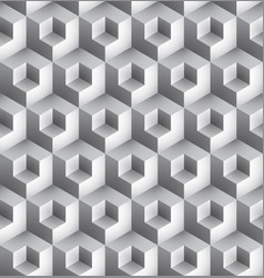 cube geometric pattern vector image