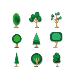 Objects tree set vector