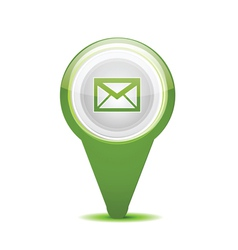 Email message icon vector
