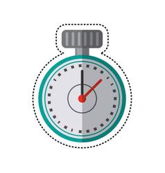 Cartoon chronometer time sport tool vector