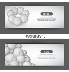 EPS 10 Abstract 3D background vector image