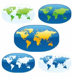 world maps vector image