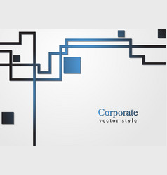 business tech background vector image