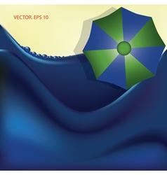 BG beach vector image