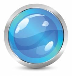glassy icon vector image