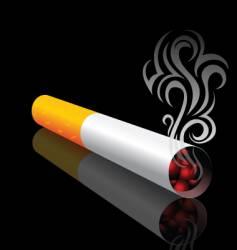 Cigarette design vector