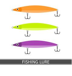 Fishing lure icon vector
