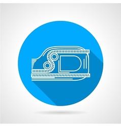 Flat line jumar icon vector image