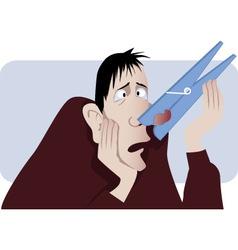 Nasal congestion vector