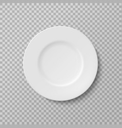 plate isolated object on a transparent background vector image vector image