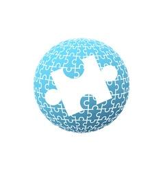 Puzzle-Globe-380x400 vector image vector image