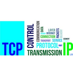 Word cloud tcp vector