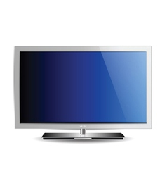 hd tv plasma vector image vector image