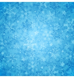 Blue abstract decorative Christmas background vector image vector image