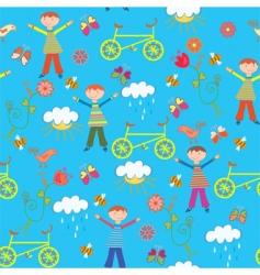 cartoon boy vector image vector image