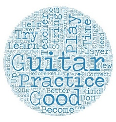 Learn to Play Guitar Free Tips for Beginner Guitar vector image
