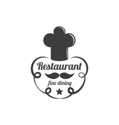 Restaurant Lable Food Service Logo vector image vector image