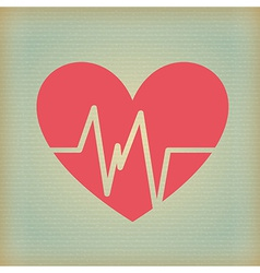 cardio design vector image