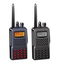 Transmitter for long-distance communication vector image