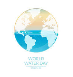 World water vector