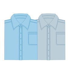 Business shirt vector