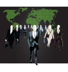 business world vector image