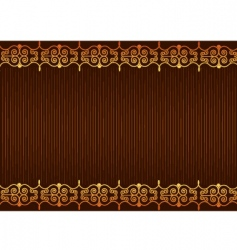 background brown vector image vector image